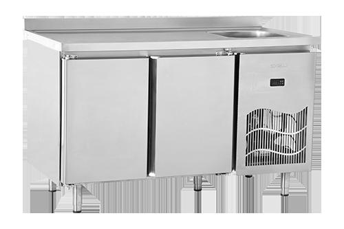 SBP S – Tezgah Tipi Buzdolabı / Polietilen Üst Tablalı