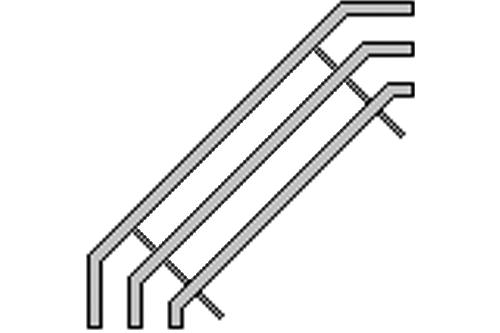 KLNK-Tepsi Standı/Cr-Ni Boru