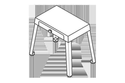 SO-G-302/78843-Et Kemik Testeresi Standı